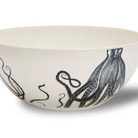 Maritime Octopus Bowl design by Thomas Paul