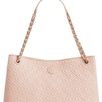 Tory Burch 'Marion' Diamond Quilted Lambskin Leather Tote | Nordstrom