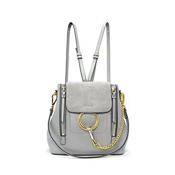 FairyBridal Women Real Leather Satchel Cross Body Handbags,Backpack 3 Colors