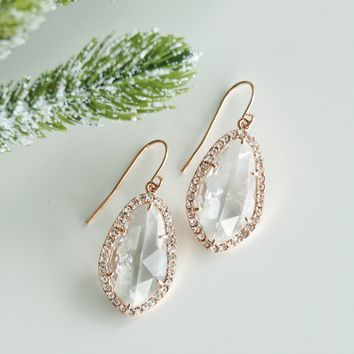 The Ava Drop Earrings