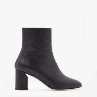 COS | Round heel leather boots