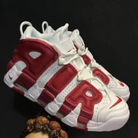 Best Sale Nike Air More Uptempo White Red