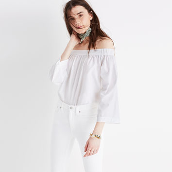 Clean Off-the-Shoulder Top : shopmadewell AllProducts | Madewell