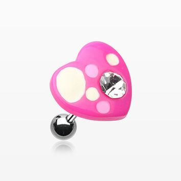 Sweet Heart Cartilage Earring