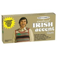 Instant Irish Accent Gum - Whimsical & Unique Gift Ideas for the Coolest Gift Givers