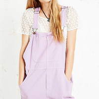 Vintage Renewal Lilac Dungaree Shorts - Urban Outfitters