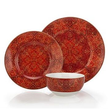 Ibiza Dinnerware - Sets of 4 | Mandarin Montecito | Dining Room | Inspiration | Z Gallerie