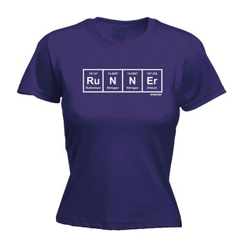 Personal Best Women's Runner Periodic Design Running T-Shirt