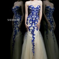 Sherri Hill Dress 1921 at Prom Dress Shop