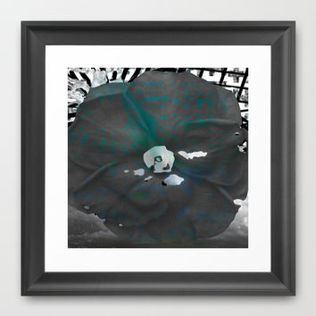 The Blues Framed Art Print by Lynsey Ledray