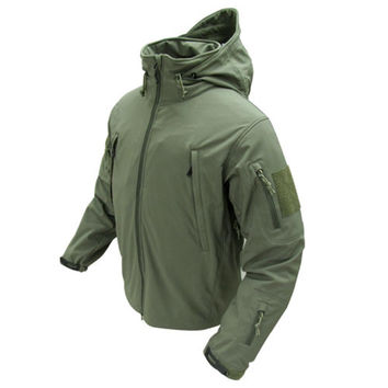 Summit Softshell Jacket Color- OD Green