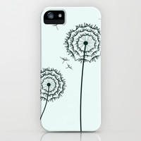 Dandelions iPhone & iPod Case by Silvianna