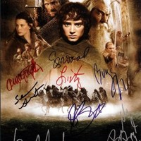 Lord of the Rings Cast Signed Autographed 8 X 10 Reprint Photo - Mint Condition