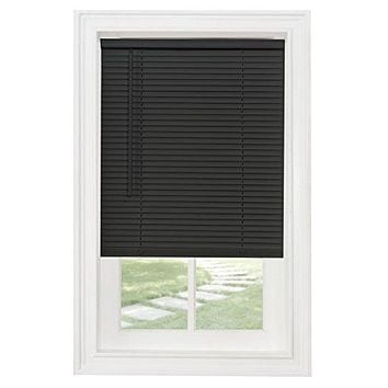 Ben&Jonah Collection Cordless GII Morningstar 1 inch  Mini Blind 29x64 - Black