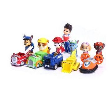 DCCK0OQ 12pcs/lot PAW Patrol Action Figure PVC Doll Model Toy (Color: Multicolor)
