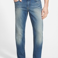 Men's Robert Graham Classic Fit Straight Leg Jeans (Indigo)