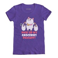 Welovefine:Bee And PuppyCat Pick Up My Groceries Peasant!