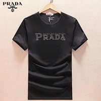 Prada Fashion Casual Shirt Top Tee-9