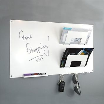 Magnetic Memo Board Letter Rack And Key Hook