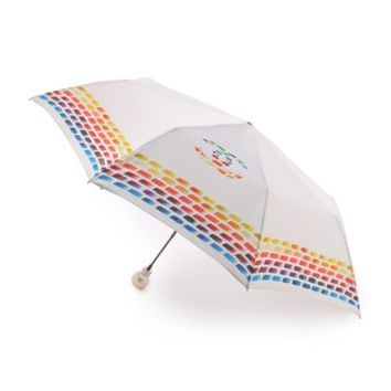 Vintage Chanel Paint Print Umbrella