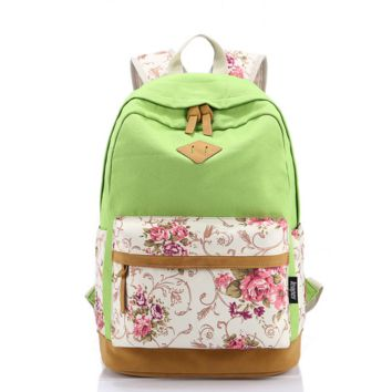 Casual Style Lightweight Canvas Laptop Unique Backpack Cute Travel School College Shoulder fashion bag/Bookfashion bags/Daypack