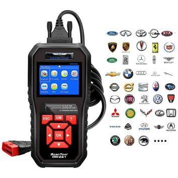 Car Auto Diagnostic Code Reader OBDII & CAN scan tool