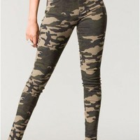 Trendy Clothing, Fashion Shoes, Women Accessories | Jasmine Camo Jeggings  | LoveShoppingMiami.com