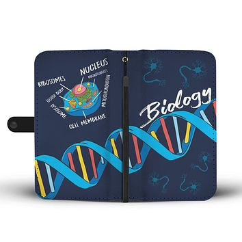 Biology Wallet Phone Case