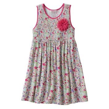 Design 365 Floral Smocked Dress - Toddler Girl, Size: