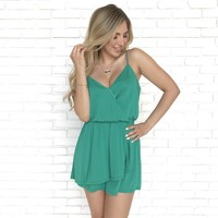 Luck Be A Lady Romper