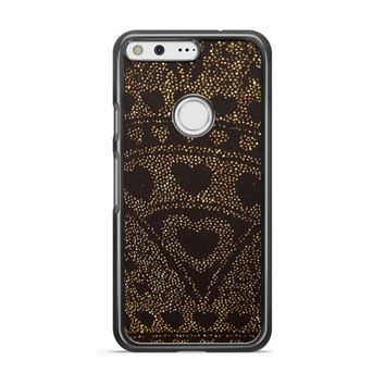 Asos Leggings In Glitter Heart Google Pixel 3 XL Case | Casefruits