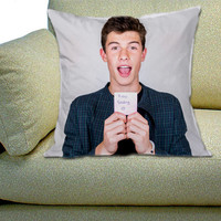 Shawn Mendes Selfie Magcon Boys - Throw Pillow by CinnamorollDesign
