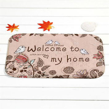 Zero Mat Outdoor Indoor Antiskid Decor Doormat