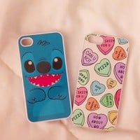 Pastel Hearts iPhone Case 5/5S 5C 4S/4