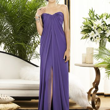 Dessy Collection Lux Chiffon Long Dress 2879
