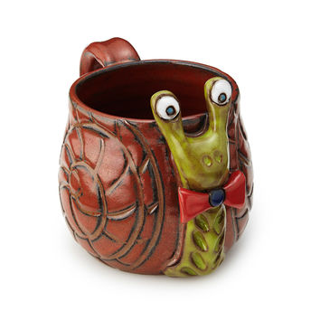 Shelldon the Snail Mug | animal mug