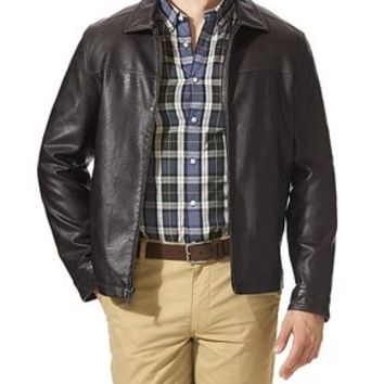 Dockers Lay Down Collar Jacket - Brown - Men's