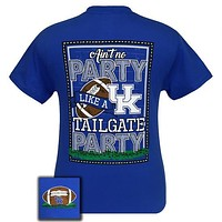 UK Kentucky Wildcats Big Blue Lexington Tailgate Party T-Shirt