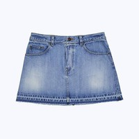 Denim Mini Skirt | Marc Jacobs | Official Site