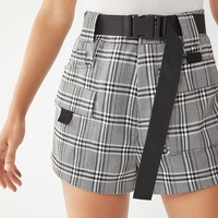 I.AM.GIA Harper Buckle Belted Short   Urban Outfitters
