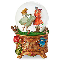 Sleeping Beauty Snow Globe