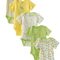 Amazon.com: Gerber Unisex-Baby 5 Pack Variety Onesuit: Clothing