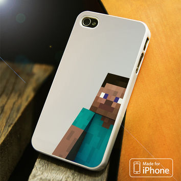 Minecraft Man iPhone 4(S),5(S),5C,SE,6(S),6(S) Plus Case