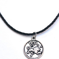 Zodiac Sign: Leo Choker Necklace
