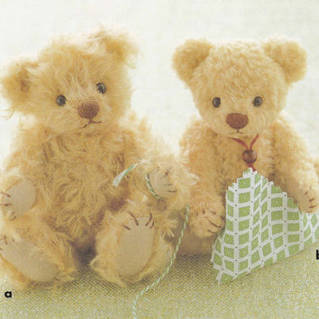 Cute Teddy Bear Plush Stuffed Doll Toy Mascot Step by DollyAndPaws