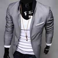 Design Gray Suit