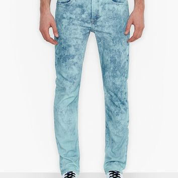 Levi's 511 Slim-Fit Graphic Bleach Acid Wash Jeans