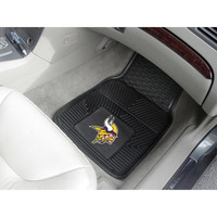 Minnesota Vikings NFL Heavy Duty 2-Piece Vinyl Car Mats (18x27)