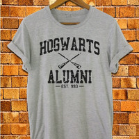 harry potter hogwarts alumni shirt logo magic spell new design for unisex adult with size S M L XL