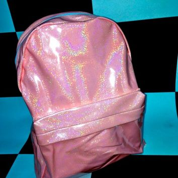 SWEET LORD O'MIGHTY! MERMAID HOLOGRAPHIC BACKPACK